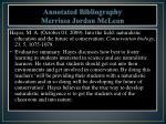 annotated bibliography merrissa jordan mclean1