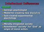 intellectual influences2