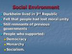 social environment3