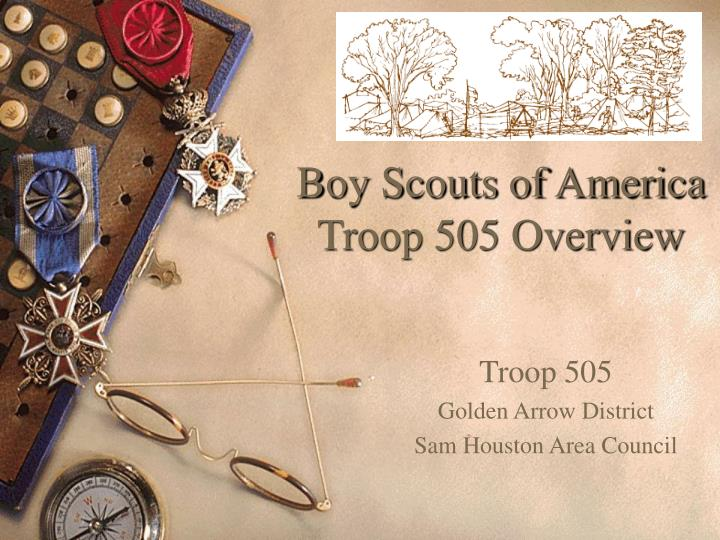 boy scouts of america troop 505 overview n.
