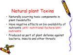 natural plant toxins