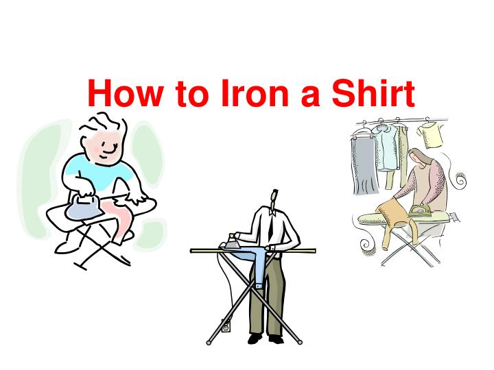 how to iron a shirt n.
