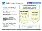kae research overview