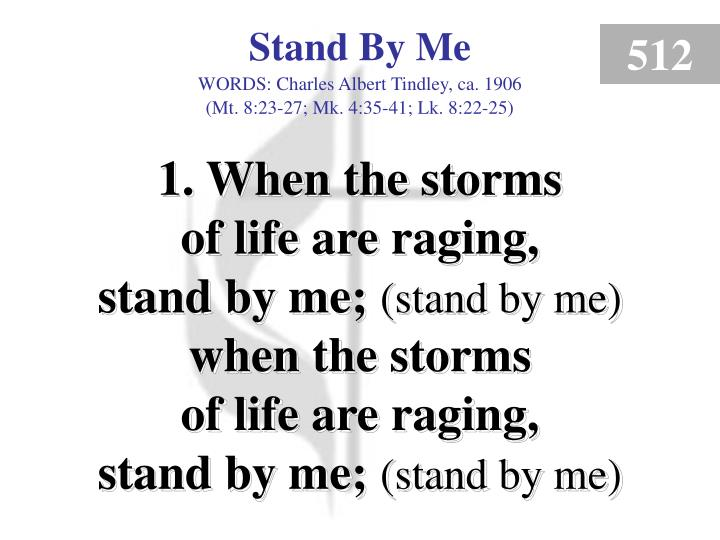 stand by me verse 1 n.