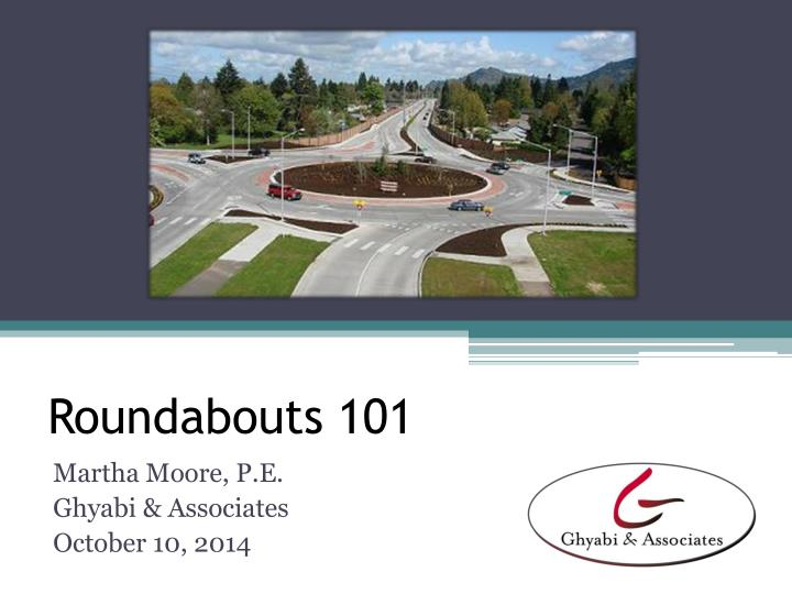 roundabouts 101 n.