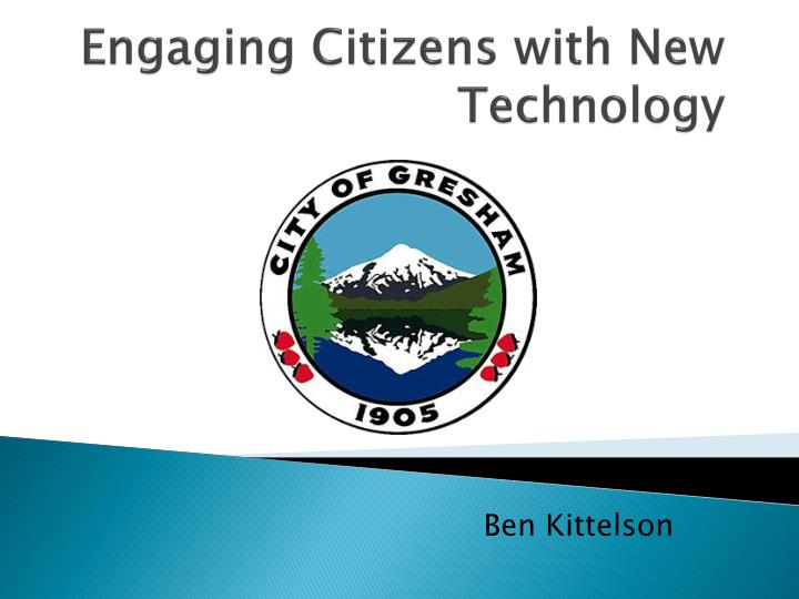 engaging citizens with new technology n.