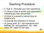 teaching procedure5