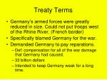 treaty terms