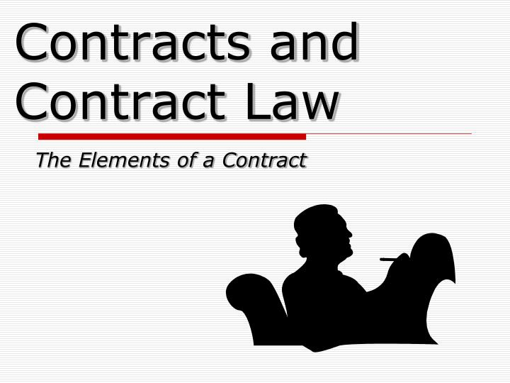 contracts and contract law n.