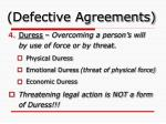 defective agreements2