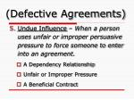 defective agreements3