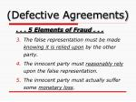 defective agreements5