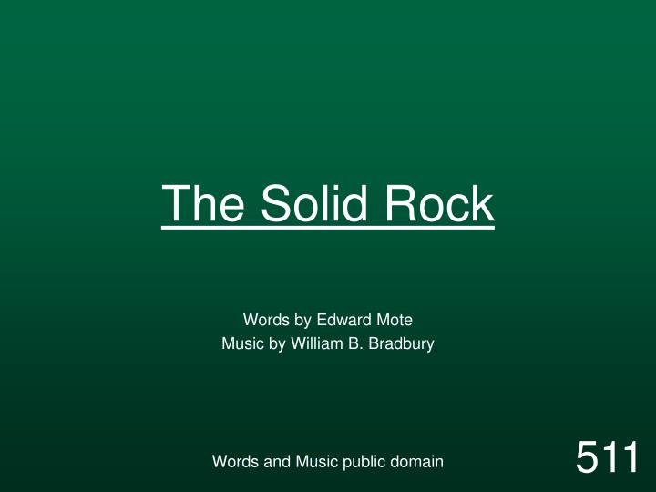 the solid rock n.