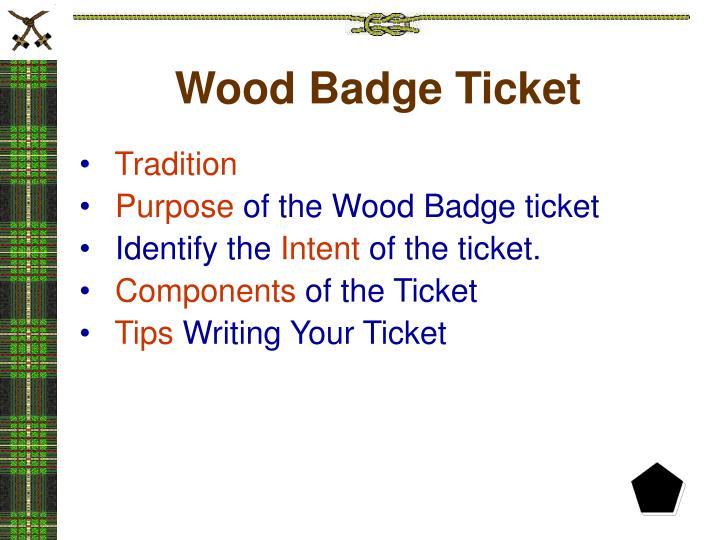 wood badge powerpoint presentations