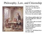 philosophy law and citizenship