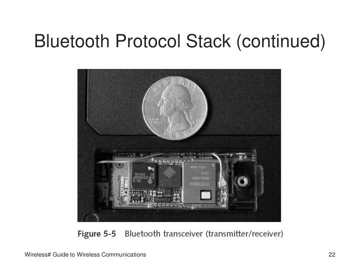 Bluetooth Protocol Stack (continued)