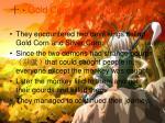 gold corn and silver corn
