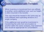 costs associated with transfers