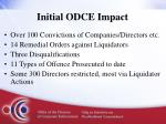initial odce impact1