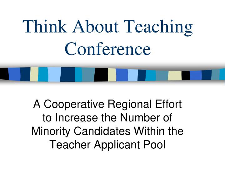 think about teaching conference n.