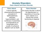 anxiety disorders panic attacks and panic disorder