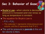 sec 3 behavior of gases
