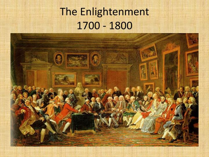 the enlightenment 1700 1800 n.