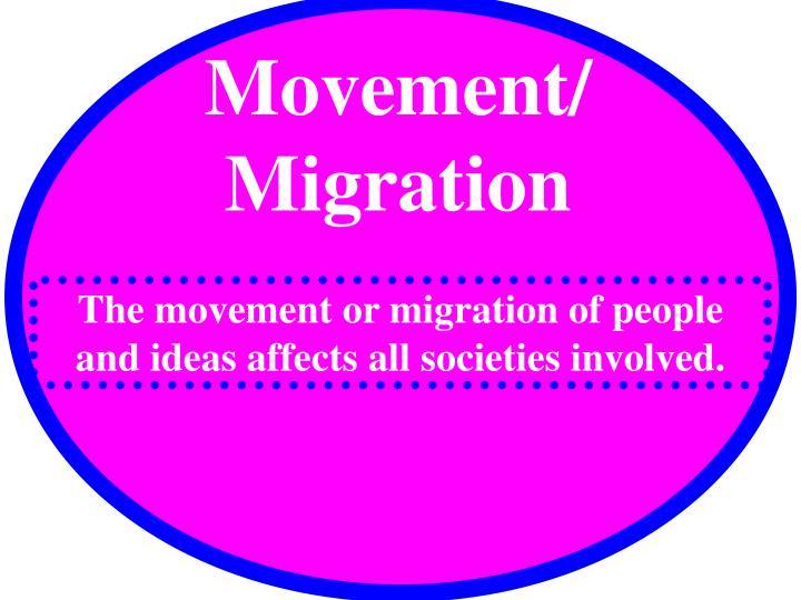 Movement/ Migration