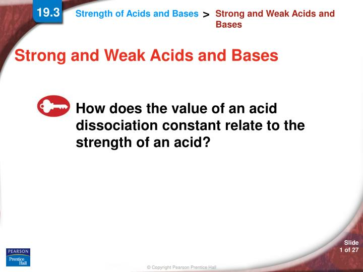 strong and weak acids and bases n.