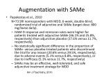 augmentation with same