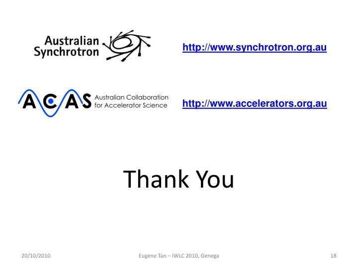 http://www.synchrotron.org.au