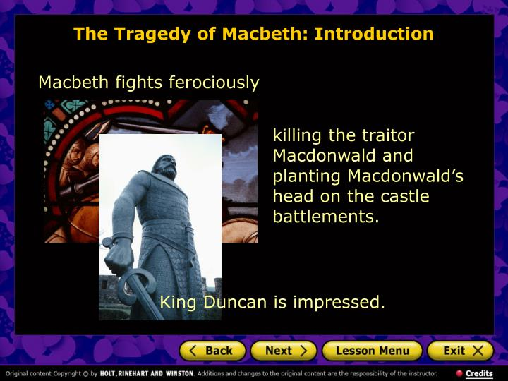 a series of character changes in the tragedy of macbeth by william shakepseare Poe of view how the vietnam war unfolded in addition a series of character changes in the tragedy of macbeth by william shakepseare to analysis of the story.
