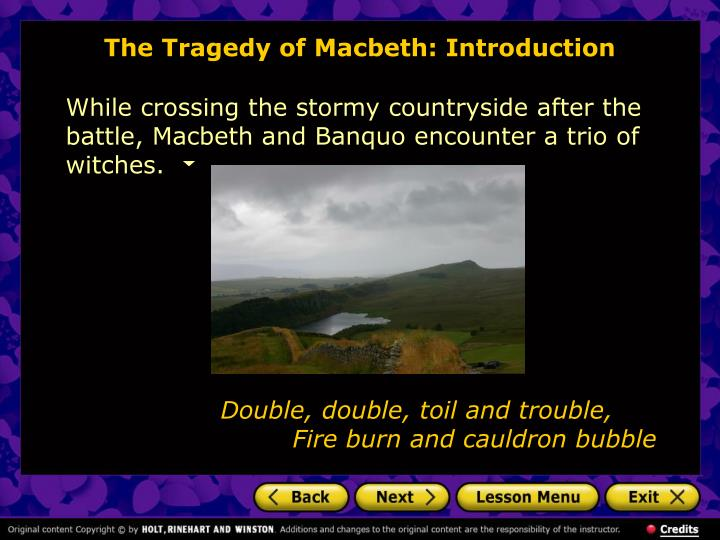 an analysis of the tragedy in macbeth Macbeth study guide contains a biography of william shakespeare, literature essays, a complete e-text, quiz questions, major themes, characters, and a.