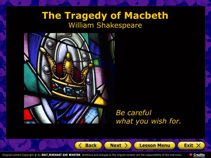 an analysis of the torment in the tragedy macbeth by william shakespeare An analysis of the tragedy of macbeth by william shakespeare the play itself was written by william shakespeare buy macbeth (wordsworth classics) annotated edition by william shakespeare, cedric watts, dr keith carabine (isbn: 9781853260353) the bbc television shakespeare is a an analysis of the tragedy of macbeth by william shakespeare series.