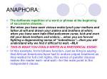 anaphora