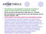 antimetabole