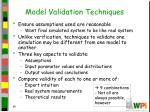 model validation techniques