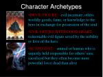 character archetypes2