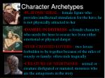 character archetypes4