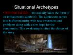 situational archetypes1