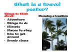 what is a travel poster