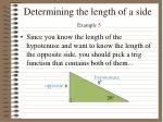 determining the length of a side example 52