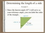 determining the length of a side example 61