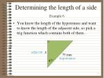 determining the length of a side example 62
