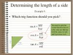 determining the length of a side example 63