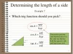 determining the length of a side example 73