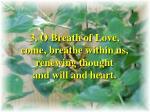 o breath of life verse 3
