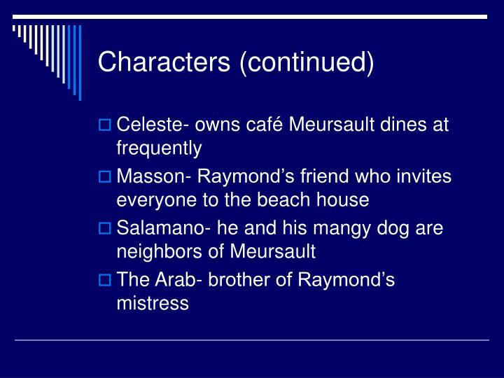 salamano and his dog