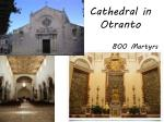 cathedral in otranto
