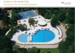 unwind in the health club the only pool in the city surrounded by gardens